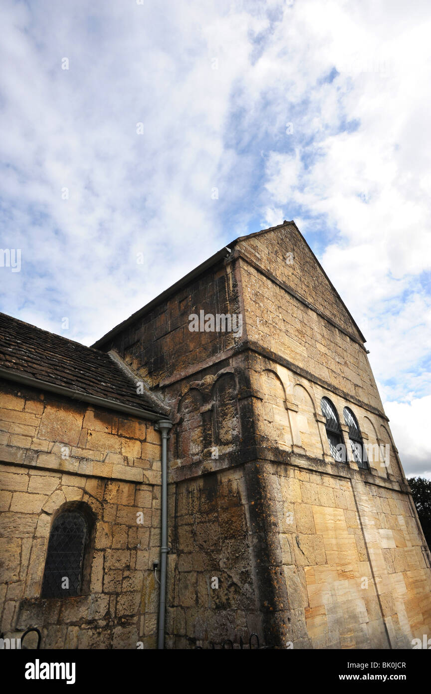 The Saxon Church of St Laurence in Bradford on Avon - Stock Image