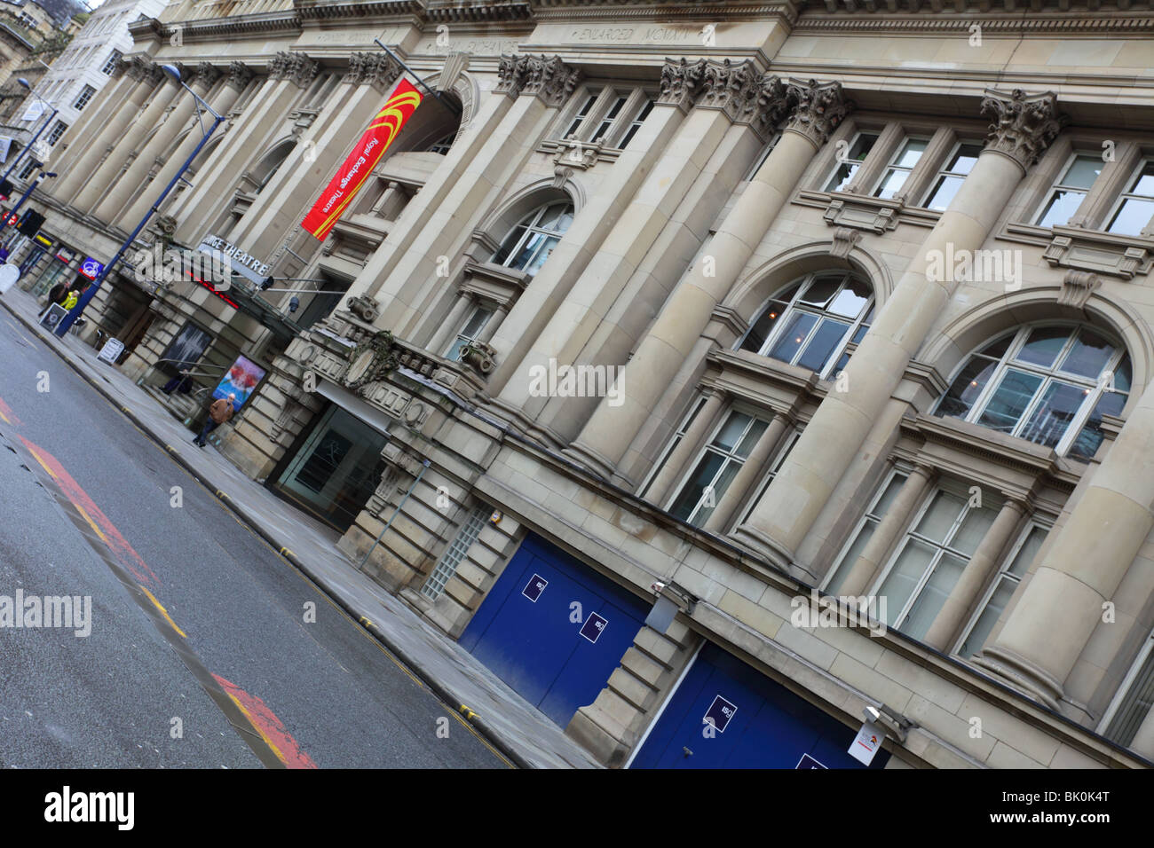The Royal Exchange in the City of Manchester. - Stock Image