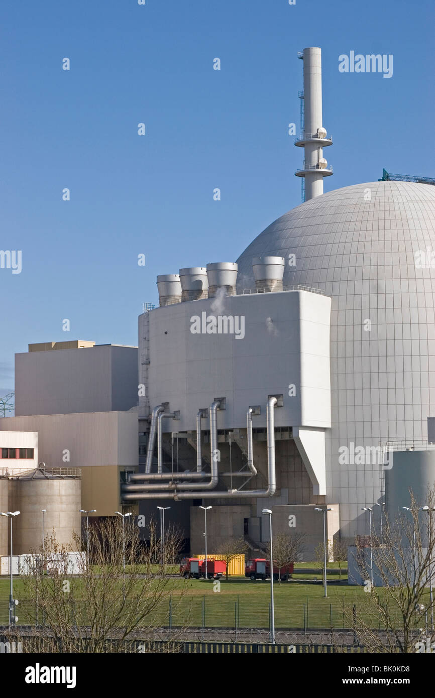 Nuclear power reactor Stock Photo