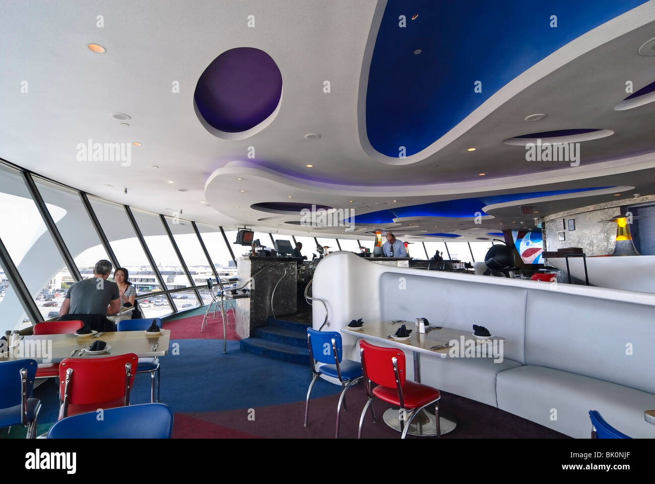 The Encounter Restaurant at LAX, Los Angeles International Airport. - Stock Image