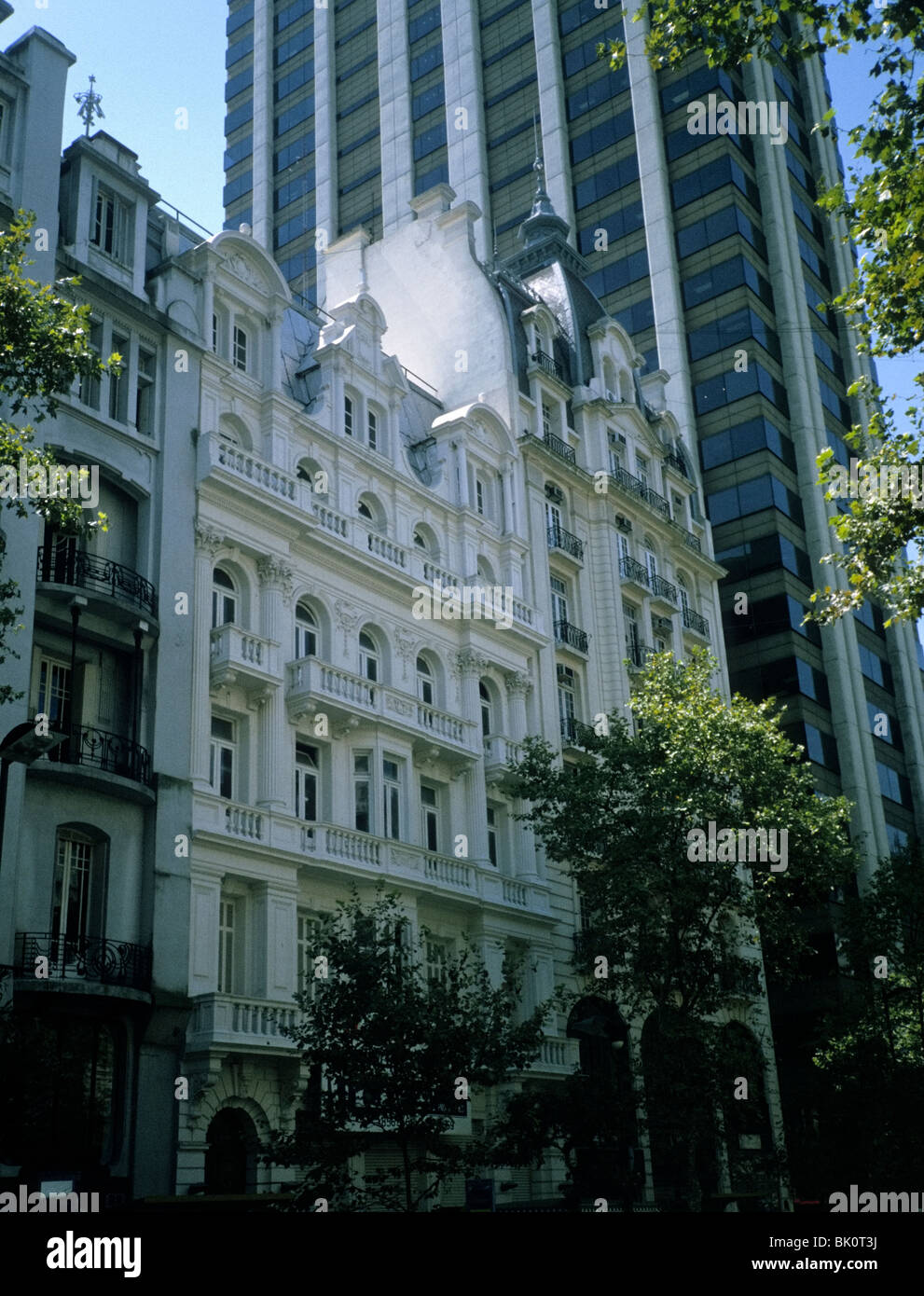Buenos Aires. Contast of architectures - Stock Image
