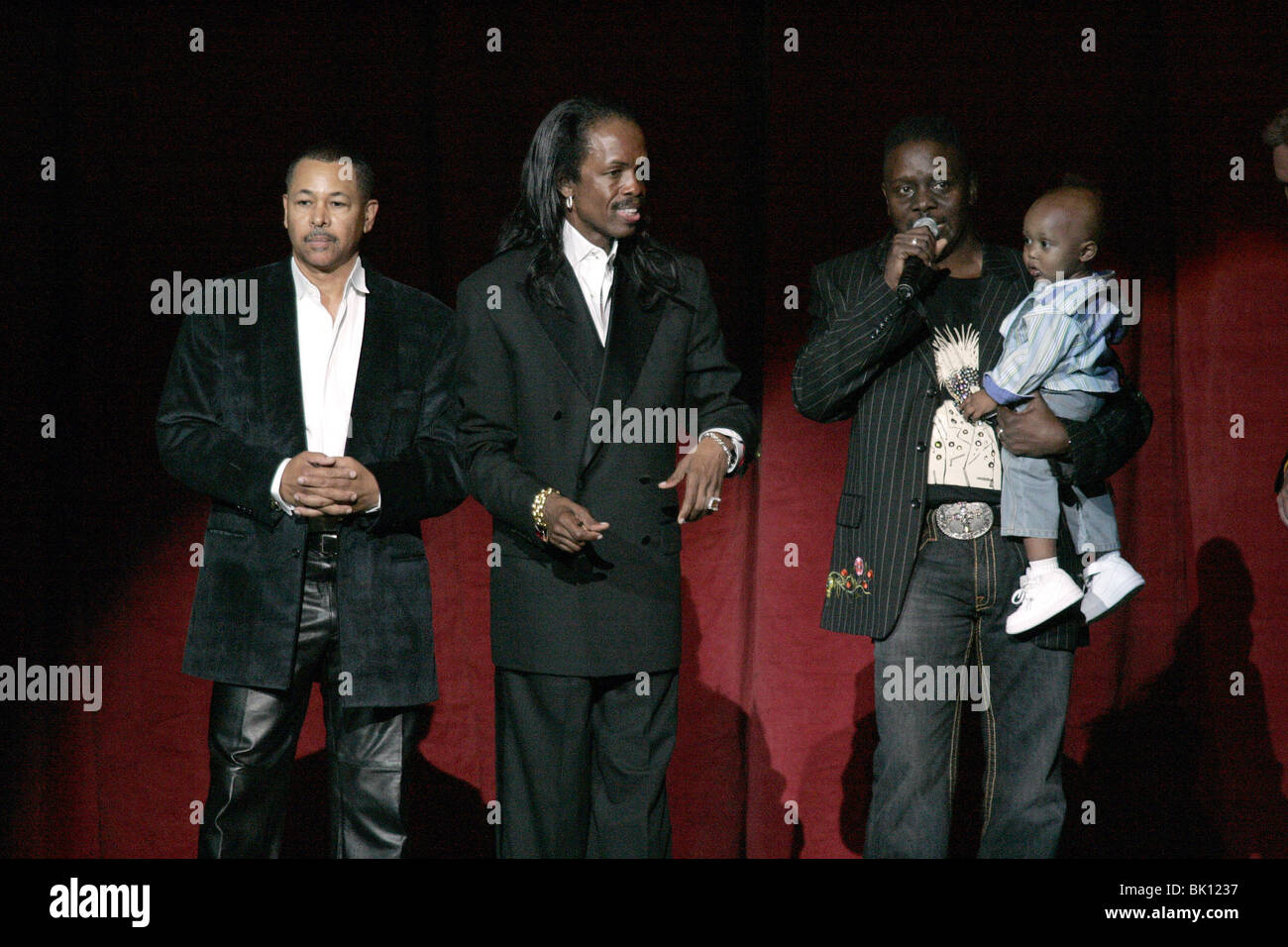 EARTH WIND & FIRE 2005 AGASSI GRAND SLAM GALA MGM GRAND HOTEL & CASINO LAS VEGAS USA 01 October 2005 - Stock Image