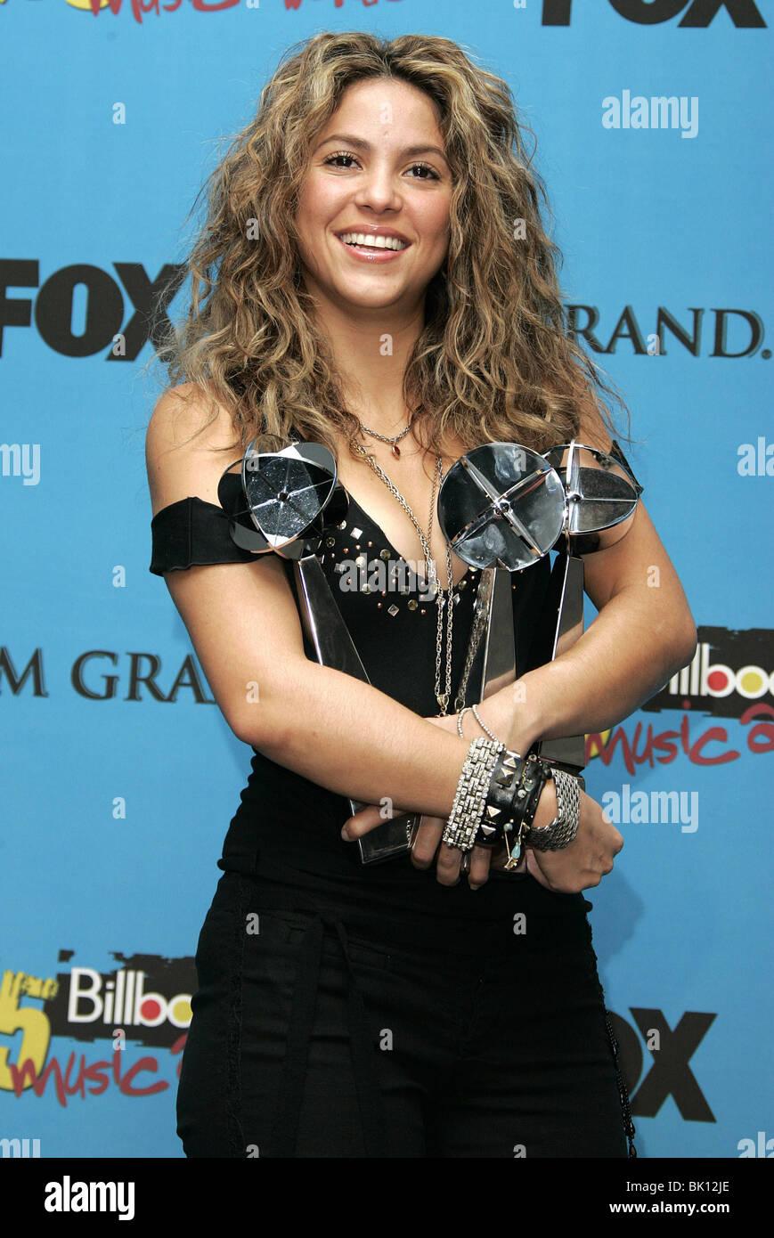 SHAKIRA BILLBOARD MUSIC AWARDS 05 MGM GRAND ARENA LAS VEGAS USA 06 December 2005 - Stock Image