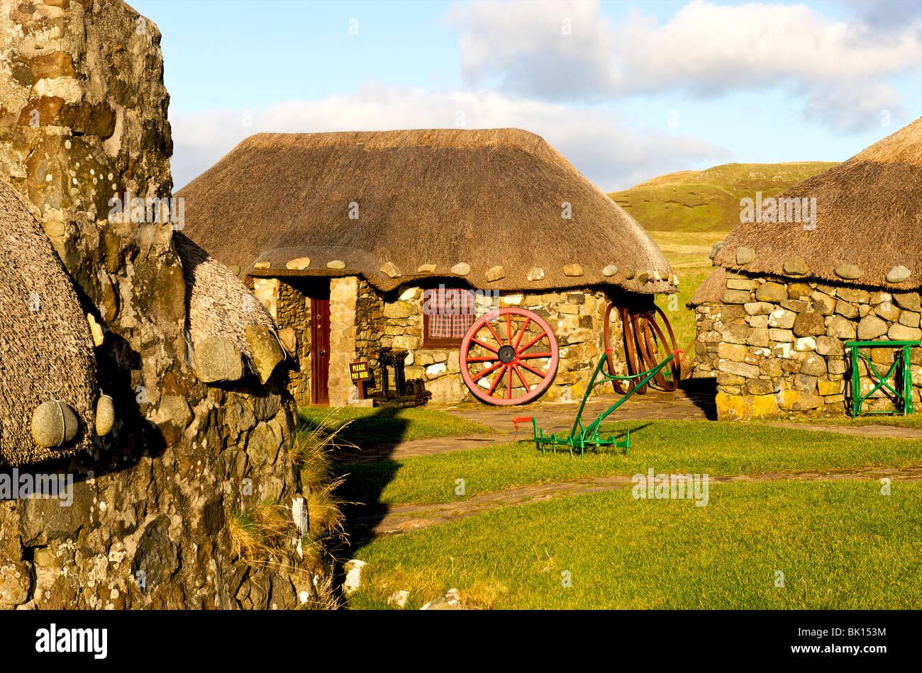 Scotland, Skye island, Croft Museum - Stock Image
