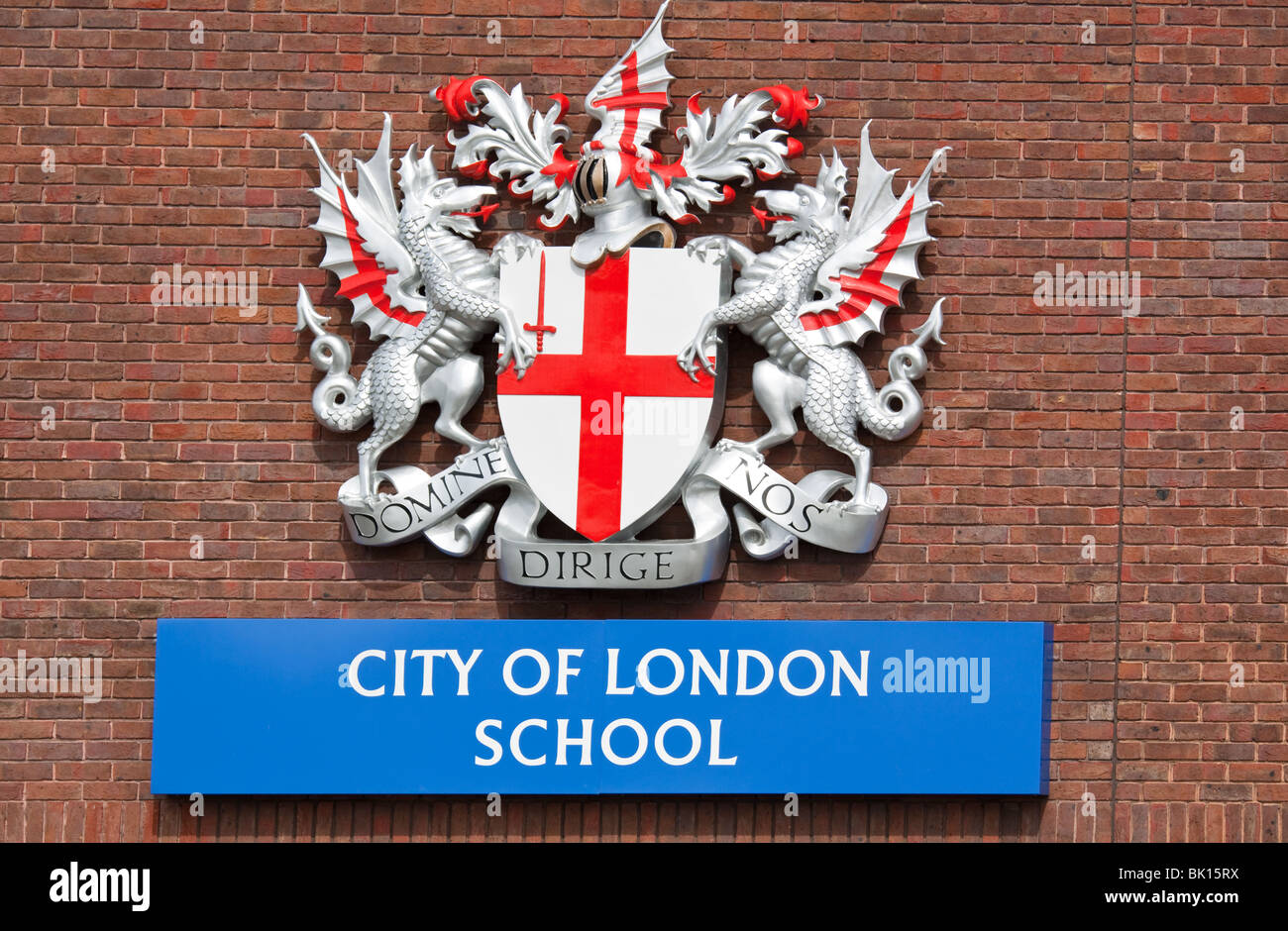 City of London School Boys Independent - Stock Image