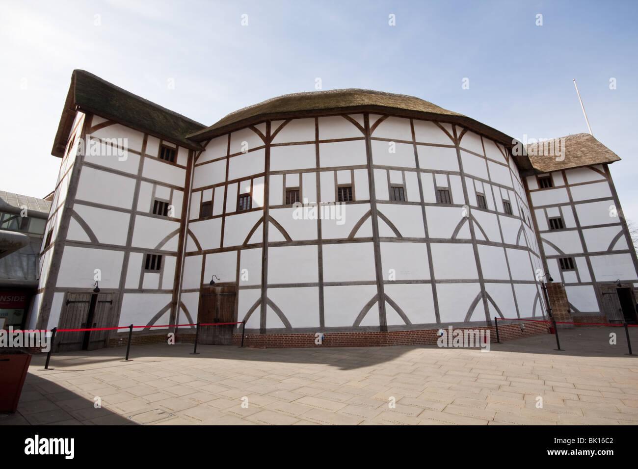 Shakespeare's Globe Theatre London - Stock Image