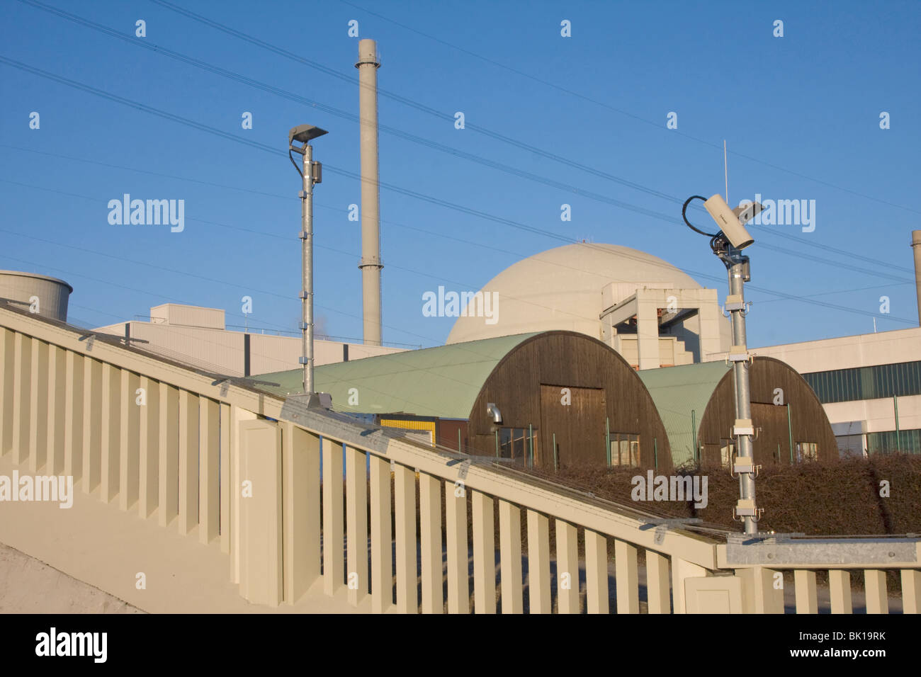Nuclear power reactor - Stock Image