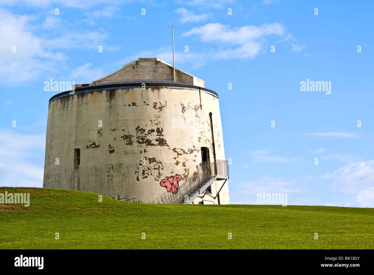 Martello Tower No. 3 Folkestone Kent - Stock Image