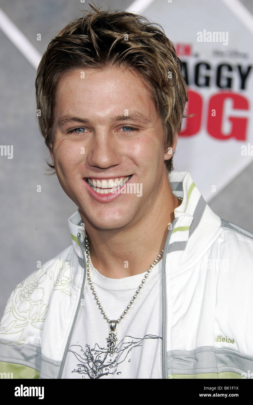 ROSS THOMAS SHAGGY DOG WORLD PREMIERE HOLLYWOOD LOS ANGELES USA 07 March 2006 - Stock Image