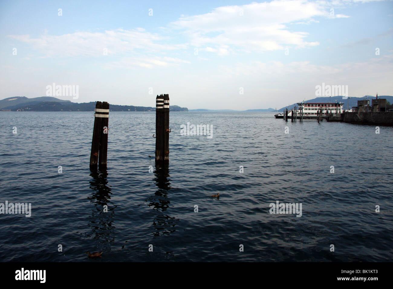 Italy, Lake Maggiore, - Stock Image