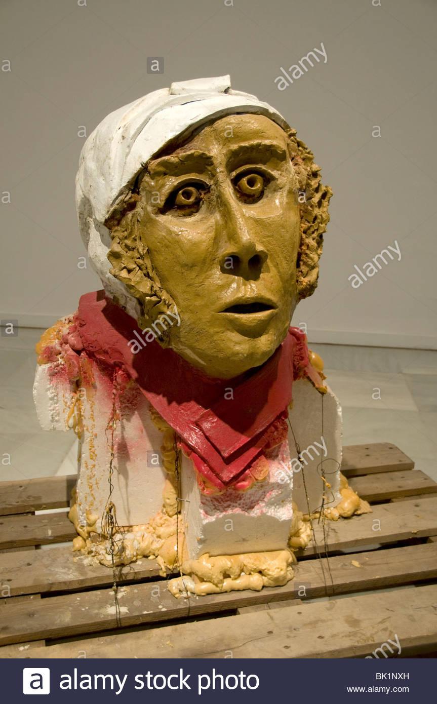 Thomas Schutte German Sculptor - Stock Image