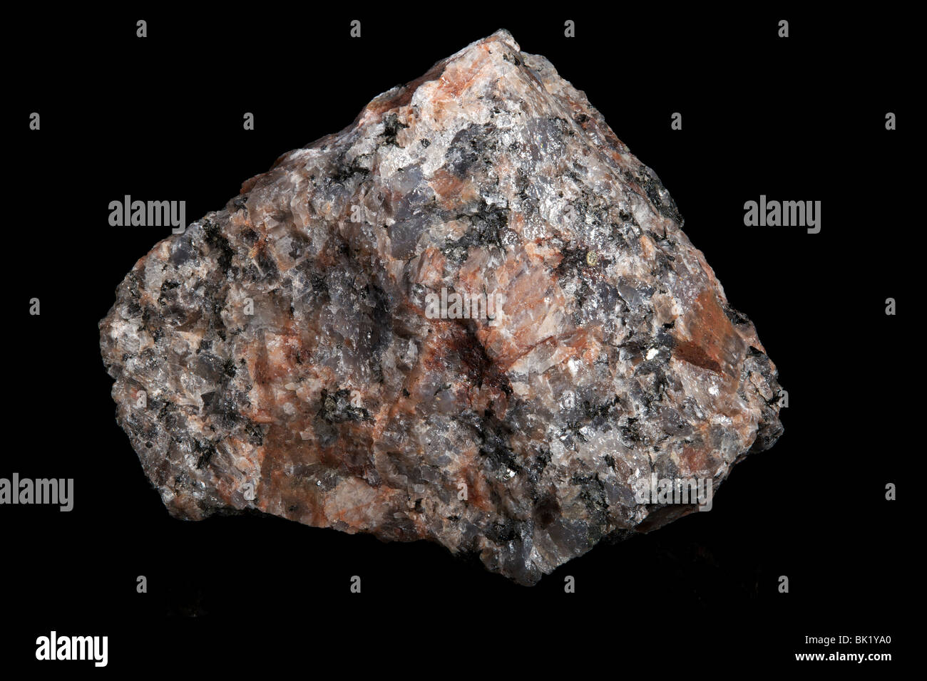 Coarse-grained Granite (Igneous Rock) - Stock Image
