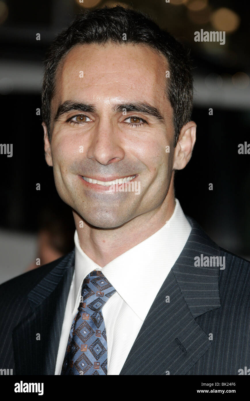 NESTOR CARBONELL SMOKIN ACES WORLD PREMIERE GRAUMANS CHINESE HOLLYWOOD LOS ANGELES USA 18 January 2007 - Stock Image