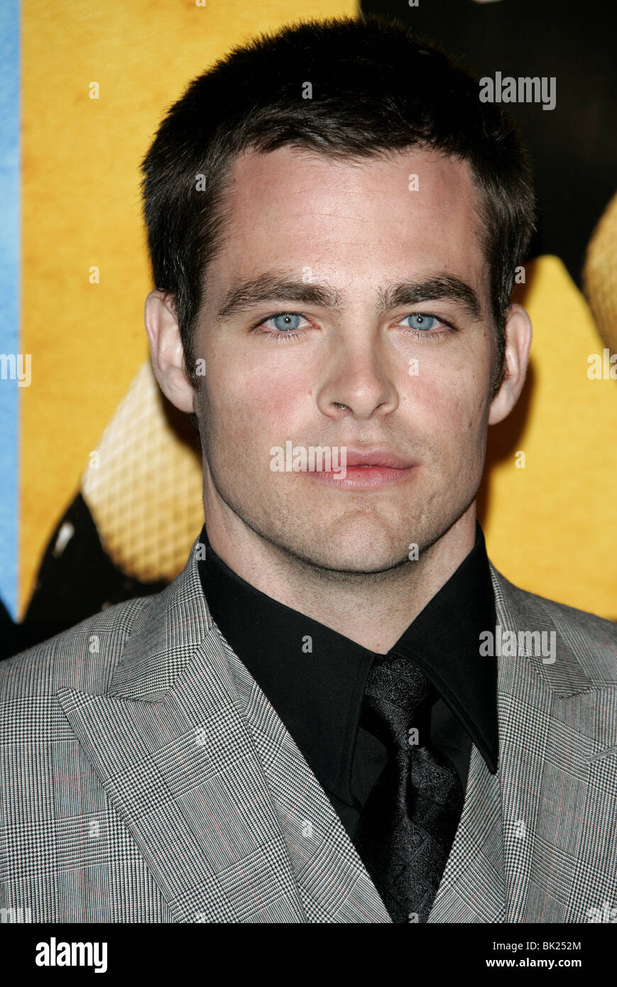 CHRIS PINE SMOKIN ACES WORLD PREMIERE GRAUMANS CHINESE HOLLYWOOD LOS ANGELES USA 18 January 2007 Stock Photo