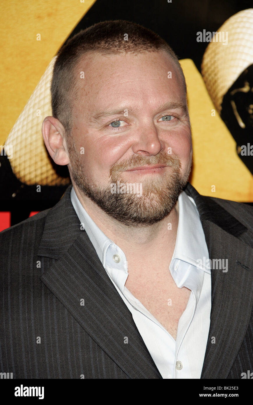 JOE CARNAHAN SMOKIN ACES WORLD PREMIERE GRAUMANS CHINESE HOLLYWOOD LOS ANGELES USA 18 January 2007 - Stock Image