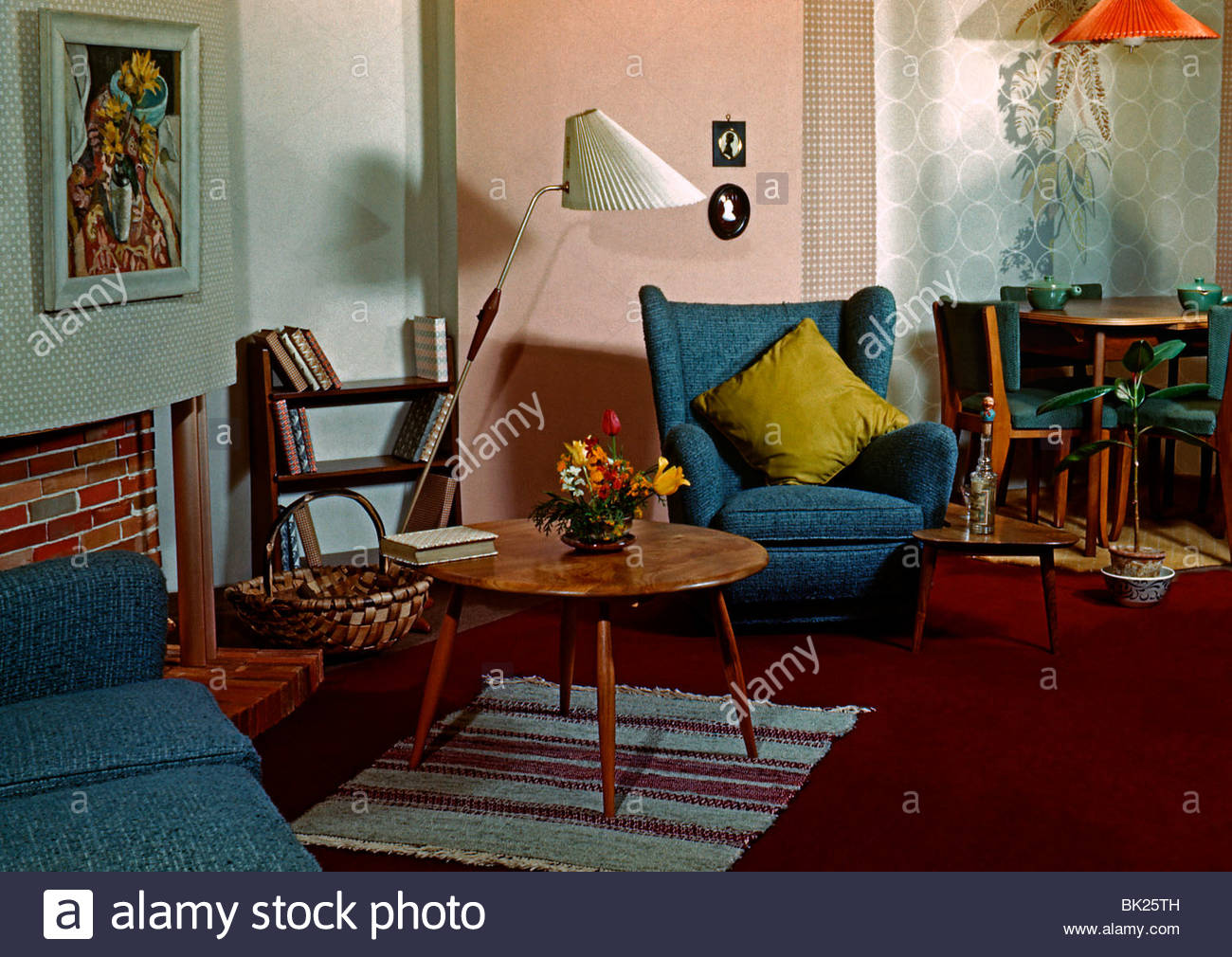 Room Uk 1960s Stock Photos Room Uk 1960s Stock Images