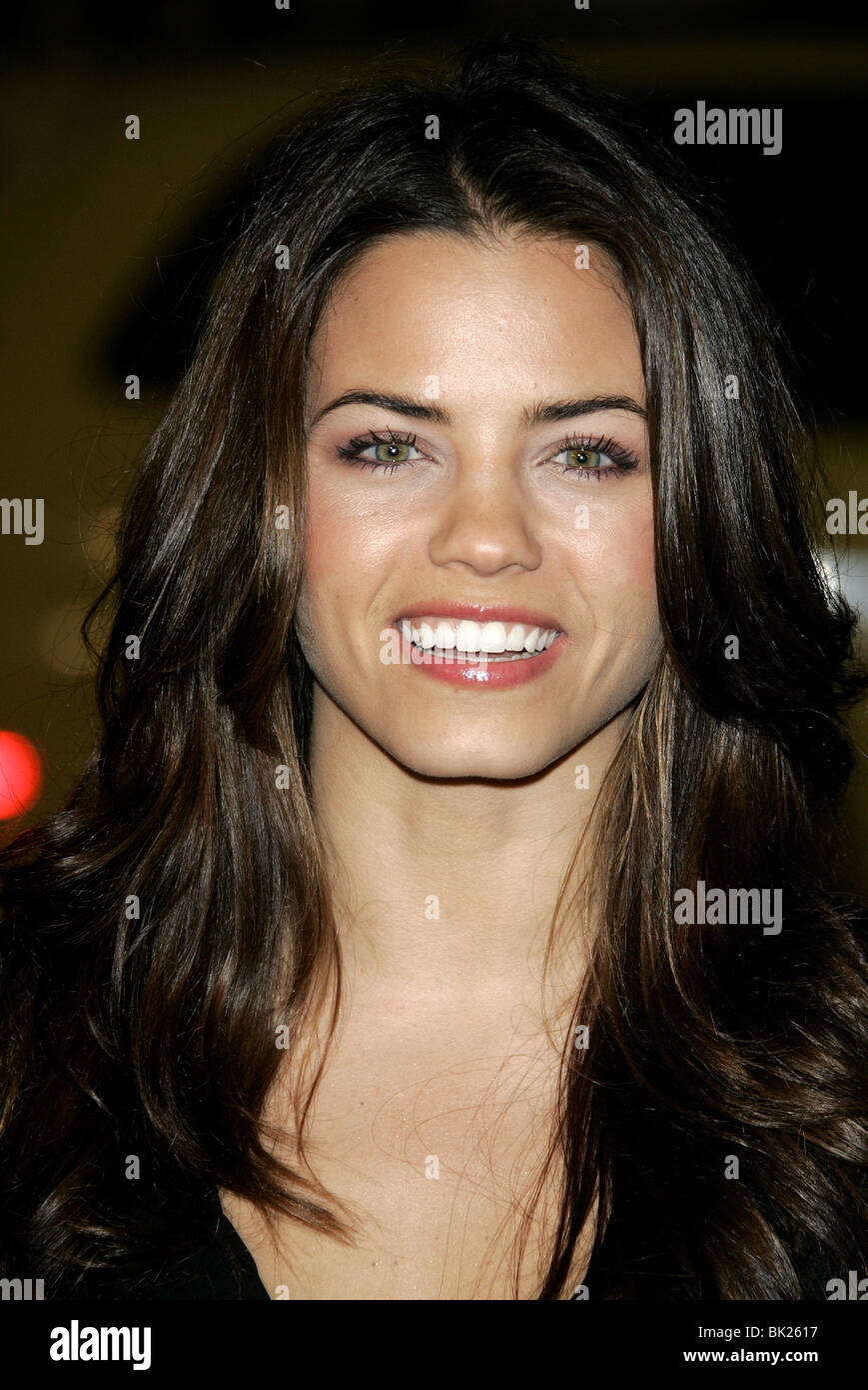 JENNY DEWAN SMOKIN ACES WORLD PREMIERE GRAUMANS CHINESE HOLLYWOOD LOS ANGELES USA 18 January 2007 - Stock Image