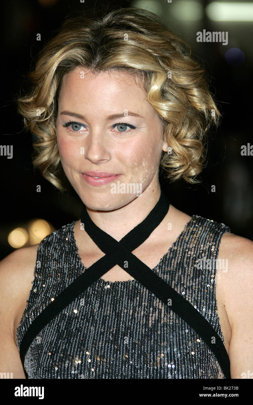 ELIZABETH BANKS SMOKIN ACES WORLD PREMIERE GRAUMANS CHINESE HOLLYWOOD LOS ANGELES USA 18 January 2007 - Stock Image