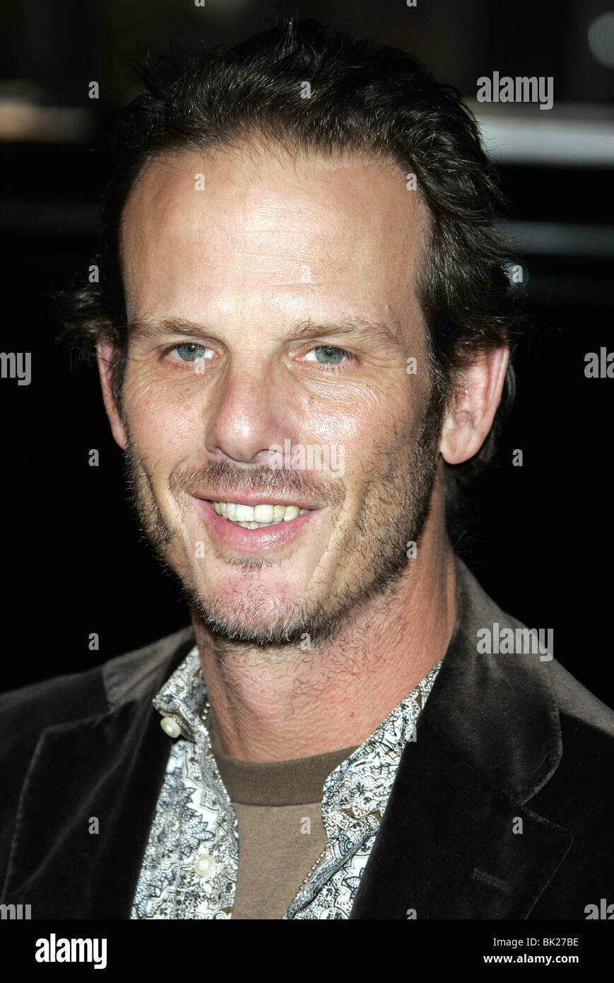 PETER BERG SMOKIN ACES WORLD PREMIERE GRAUMANS CHINESE HOLLYWOOD LOS ANGELES USA 18 January 2007 - Stock Image