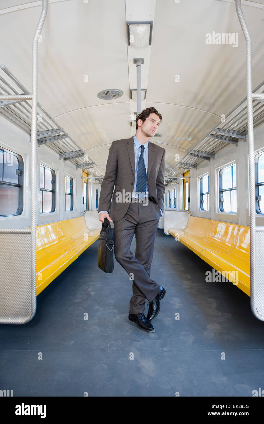 Traveling by train - Stock Image
