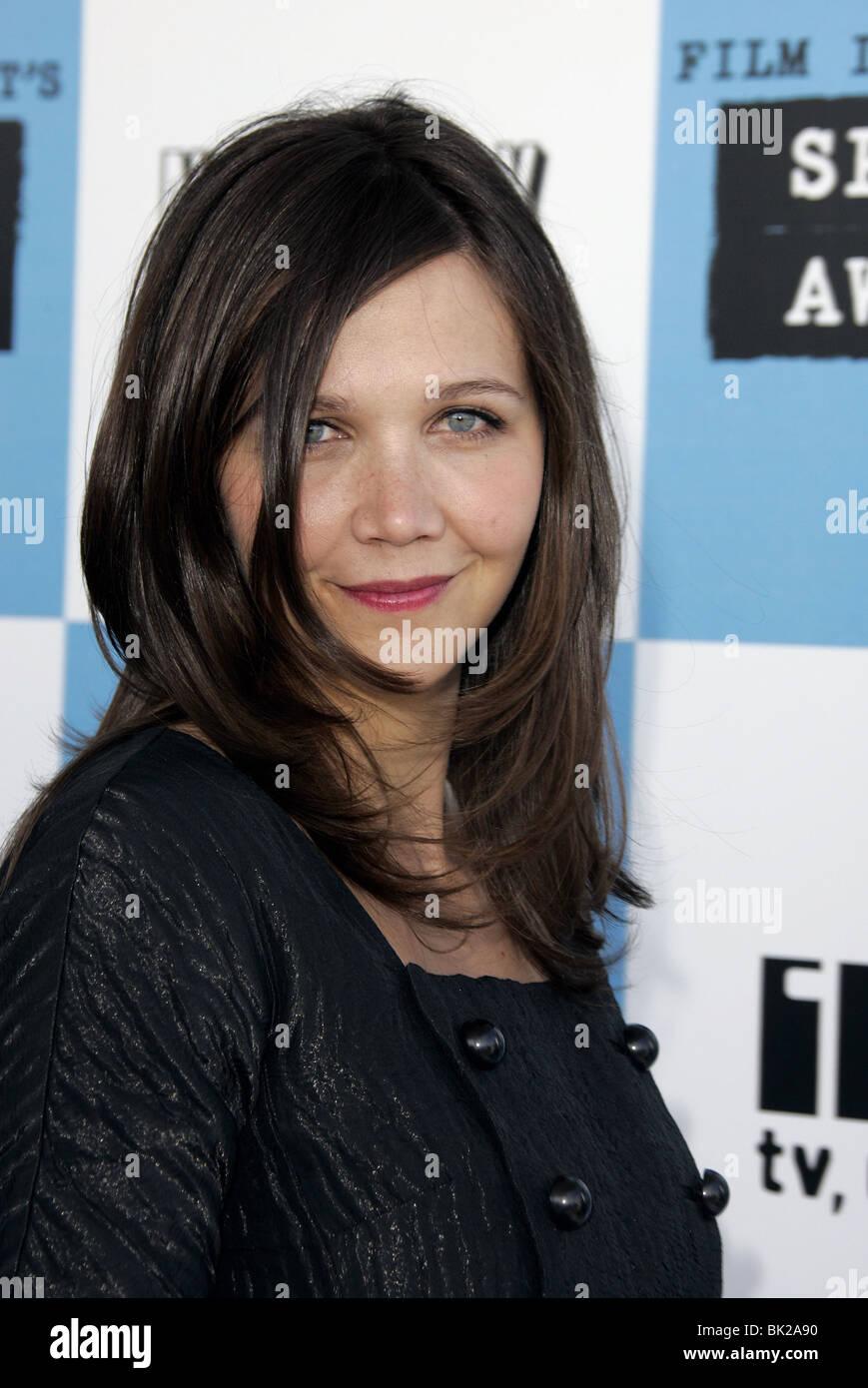 MAGGIE GYLLENHAAL 22ND FILM INDEPENDENT SPIRIT AWARDS SANTA MONICA LOS ANGELES USA 24 February 2007 - Stock Image
