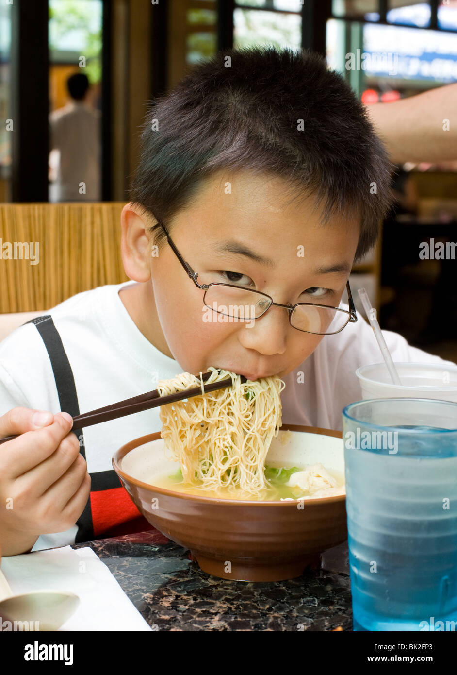 How to Eat Ramen with Chopsticks