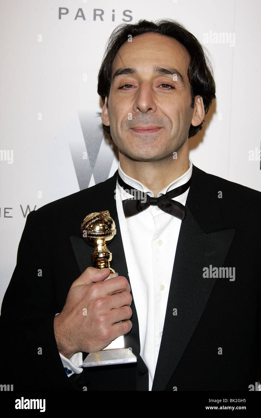 ALEXANDRE DESPLAT THE WEINSTEIN COMPANYS 2007 GOLDEN GLOBES AFTER PARTY BEVERLY HILLS HOTEL BEVERLY HILLS LOS ANGELES - Stock Image