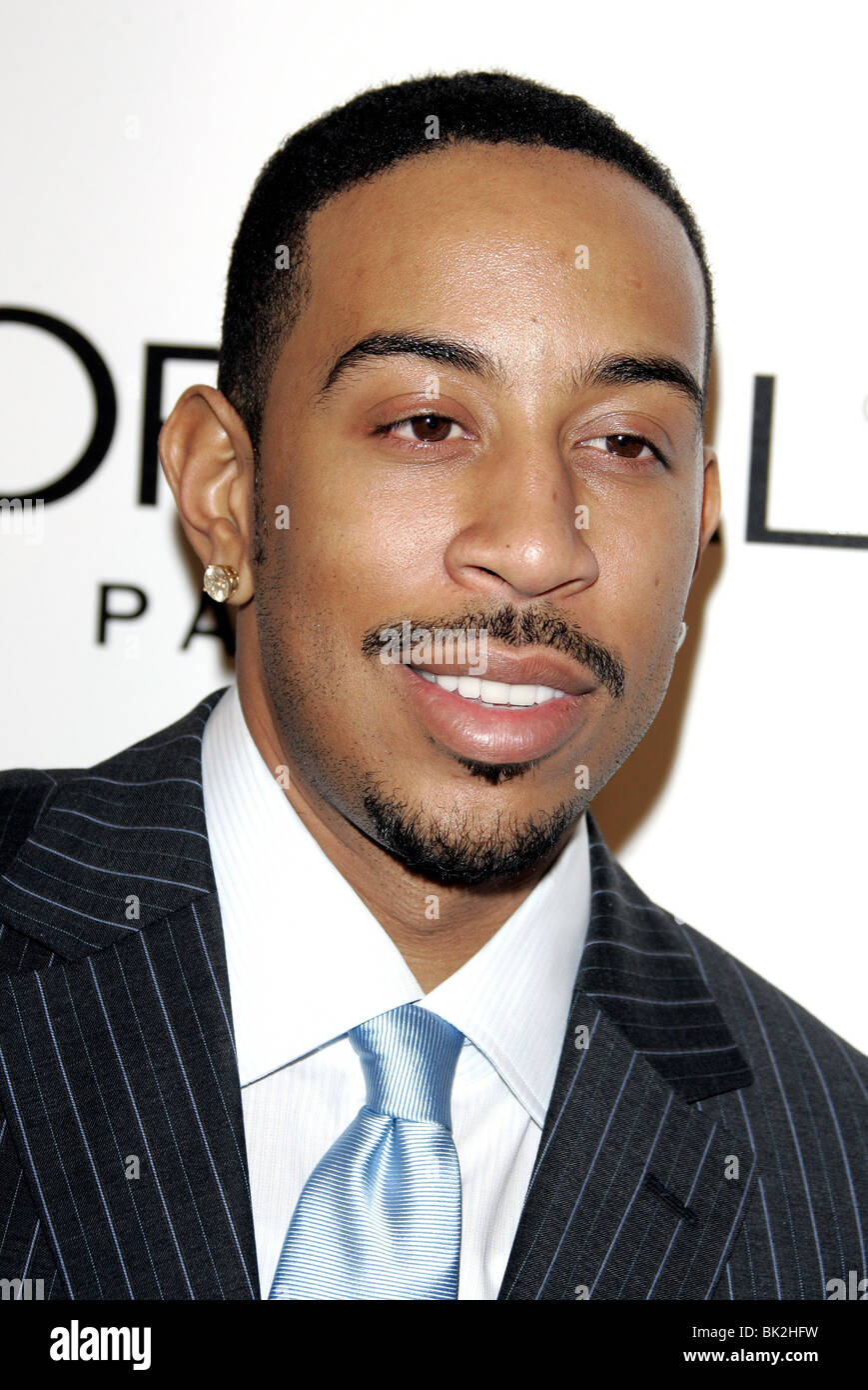 LUDACRIS THE WEINSTEIN COMPANYS 2007 GOLDEN GLOBES AFTER PARTY BEVERLY HILLS HOTEL BEVERLY HILLS LOS ANGELES USA - Stock Image