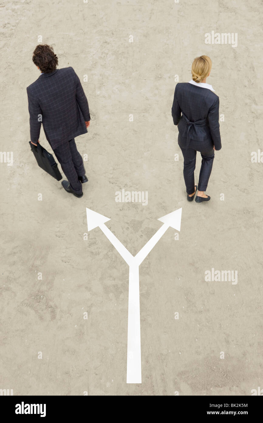 Business life - Stock Image