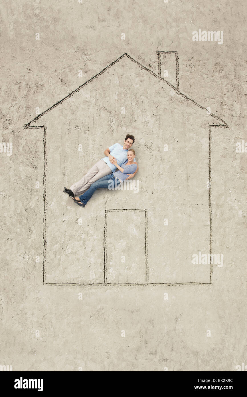 A house - Stock Image