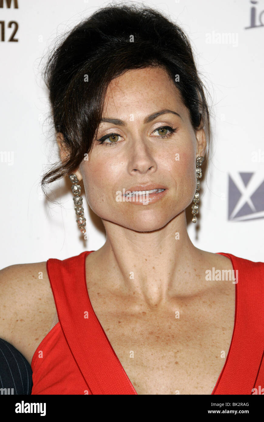 MINNIE DRIVER THE RICHES TV PREMIERE CENTURY CITY LOS ANGELES USA 10 March 2007 - Stock Image