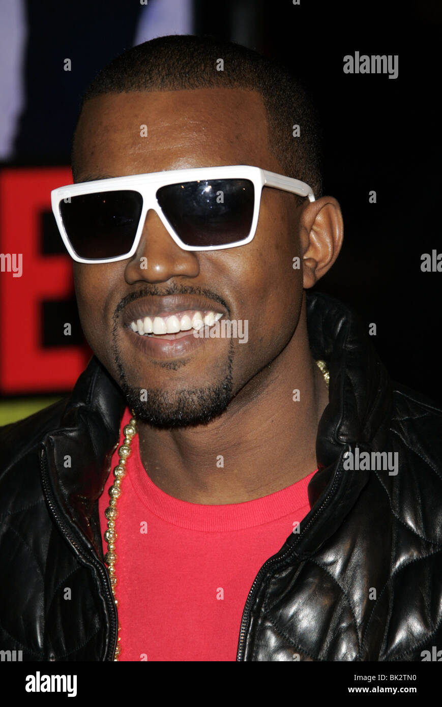 KANYE WEST SMOKIN ACES WORLD PREMIERE GRAUMANS CHINESE HOLLYWOOD LOS ANGELES USA 18 January 2007 Stock Photo