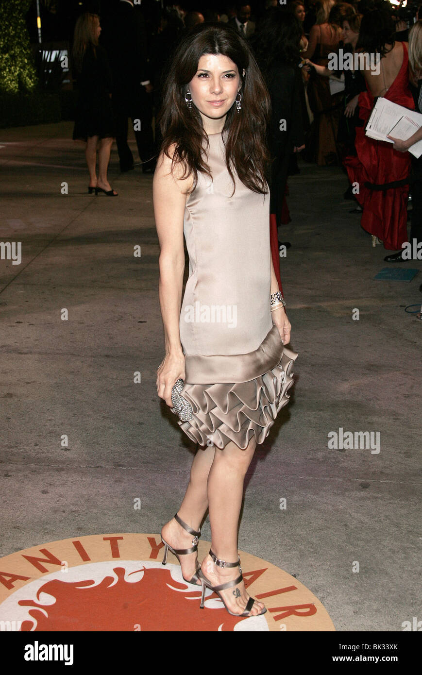 MARISA TOMEI VANITY FAIR PARTY 2007 MORTONS HOLLYWOOD LOS ANGELES USA 25 February 2007 - Stock Image
