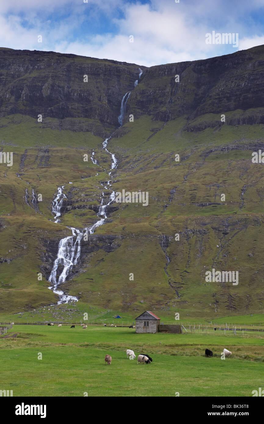 Saksun Faroe Islands Denmark Stock Photos Amp Saksun Faroe