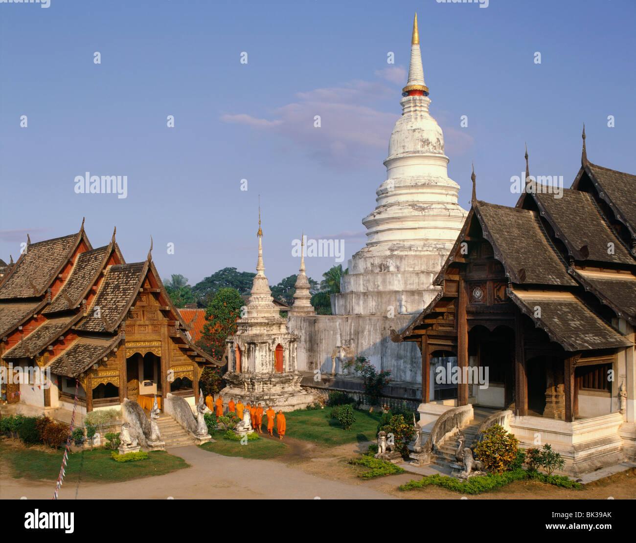 Wat Phra Singh, Chiang Mai, Thailand, Southeast Asia, Asia Stock Photo