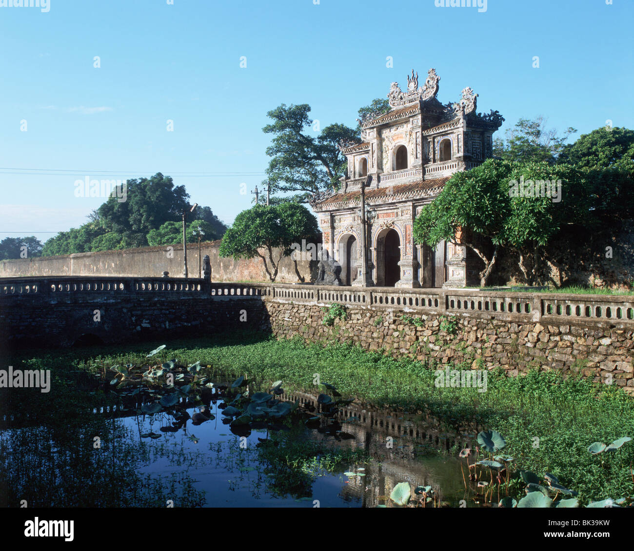 The Gate of Humanity (East Gate), The Citadel at Hue, UNESCO World Heritage Site, Vietnam, Indochina, Southeast - Stock Image