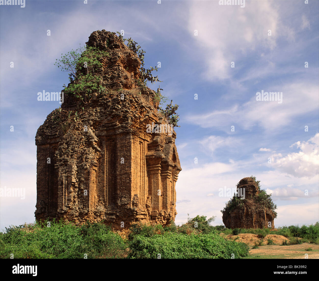 Cham temples dating from the 8th century, Hoa Lai, Vietnam, Indochina, Southeast Asia, Asia - Stock Image