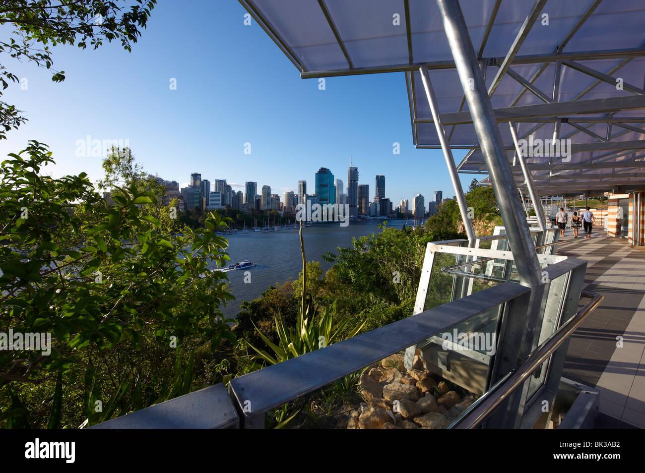 Kangaroo Point Park Brisbane Australia - Stock Image