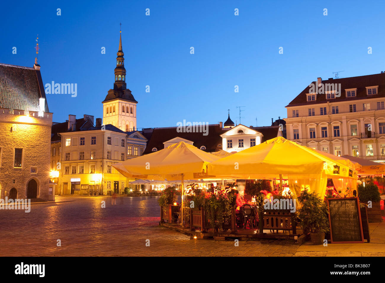 Tallinn, Estonia, Baltic States, Europe - Stock Image