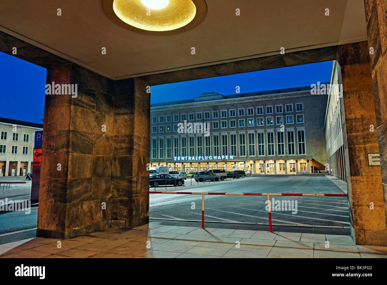 Tempelhof Airport, Berlin, Germany, Europe - Stock Image