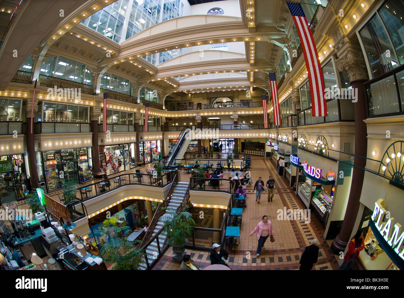 The Bourse off of Independence Mall in Philadelphia, PA - Stock Image