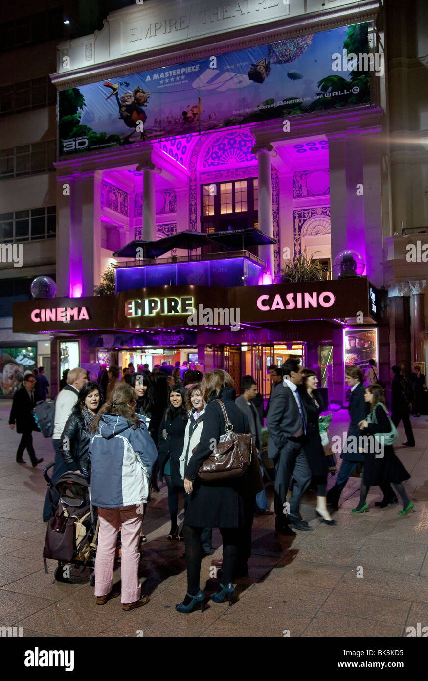 Leicester Square, West End, London, England - Stock Image