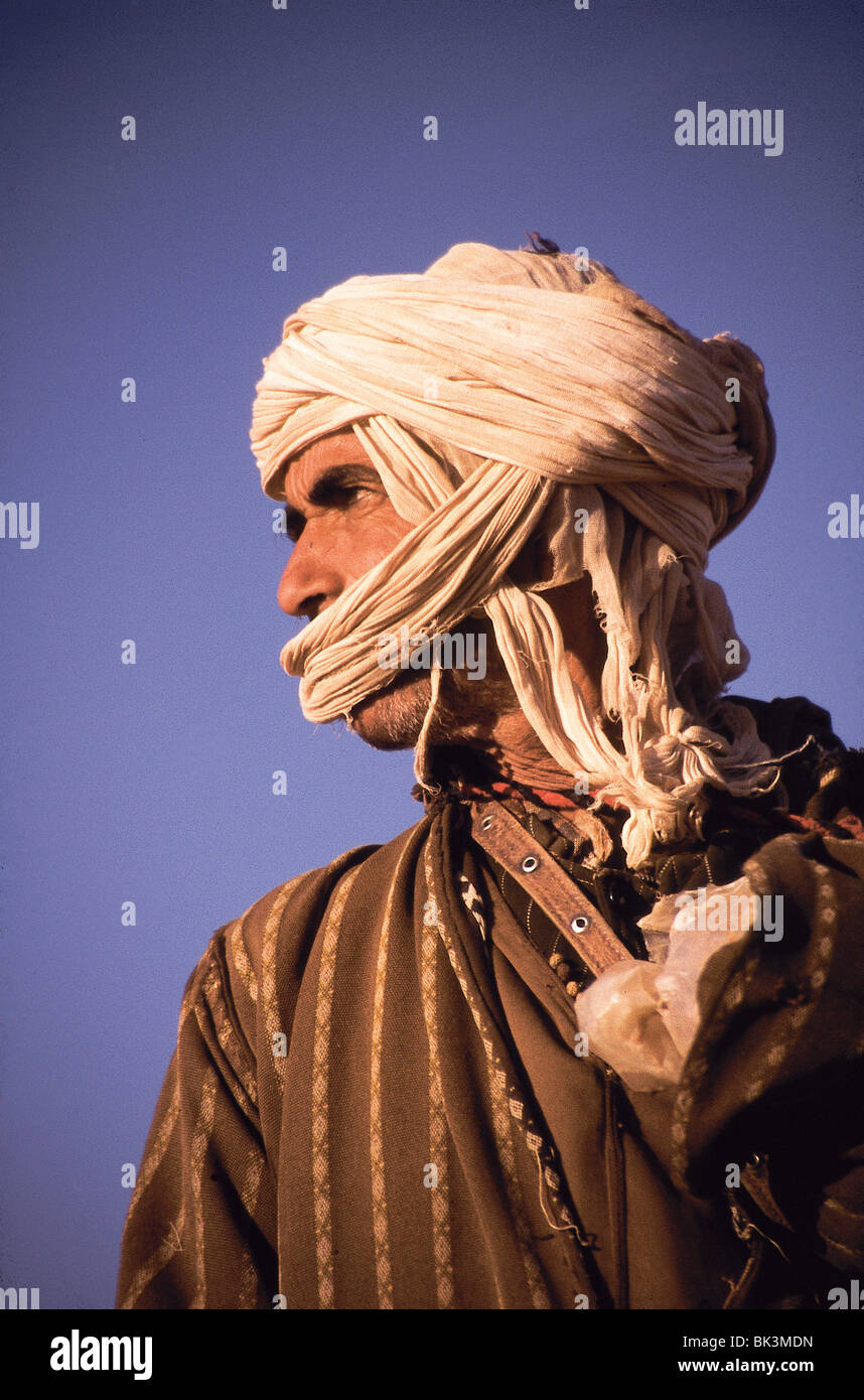 A Berber Man in Ouarzazate Province, Morocco Stock Photo