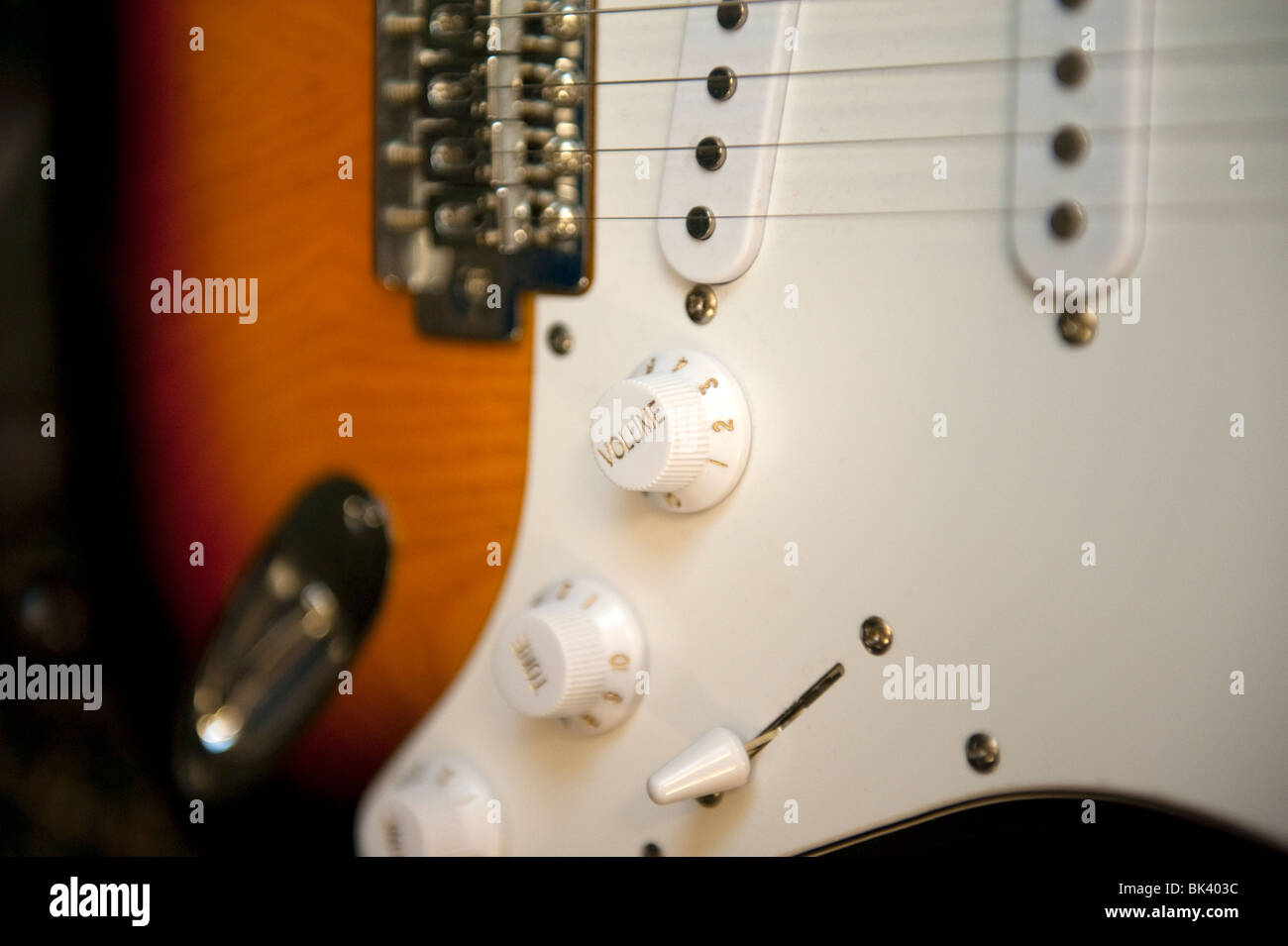 Close Up Electric Guitar Volume Knob Stock Photo 28976736 Alamy