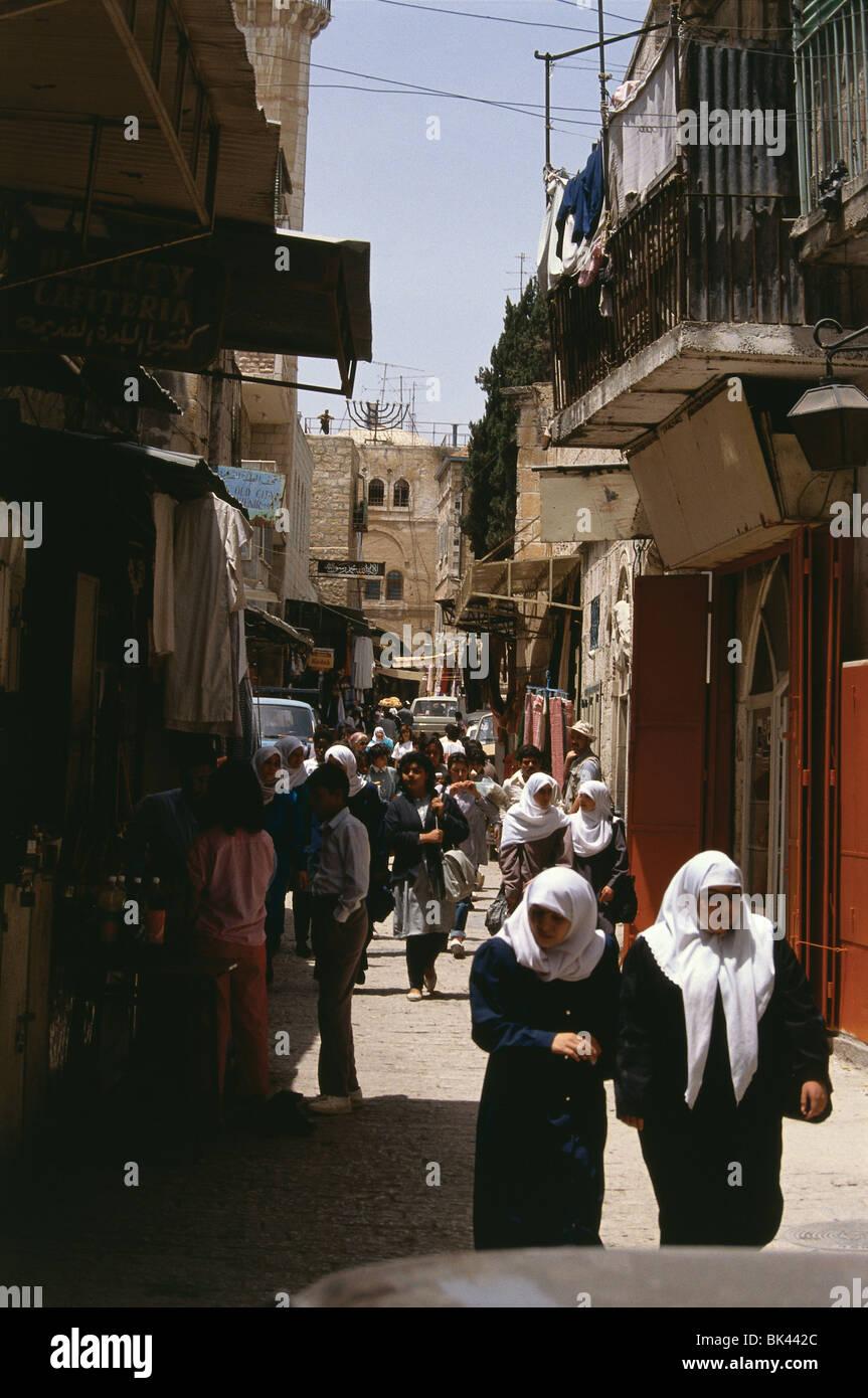 Street Scene, Israel - Stock Image