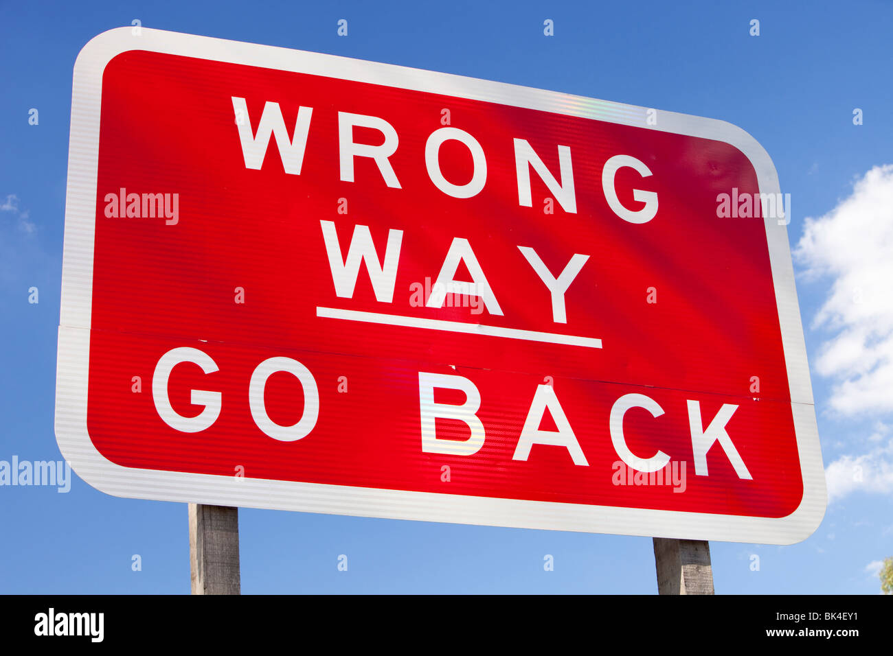 A road sign on a freeway in Victoria, Australia. - Stock Image