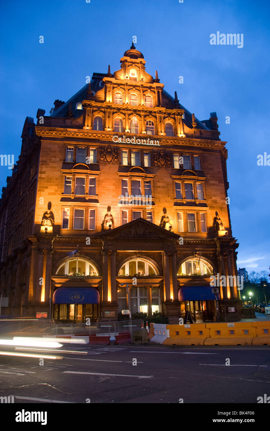 Caledonian Hotel Edinburgh Stock Photo 28988406 Alamy