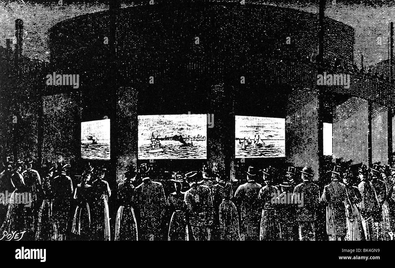 The Stereorama Poeme De La Mer 1900 Stock Photo 28989781