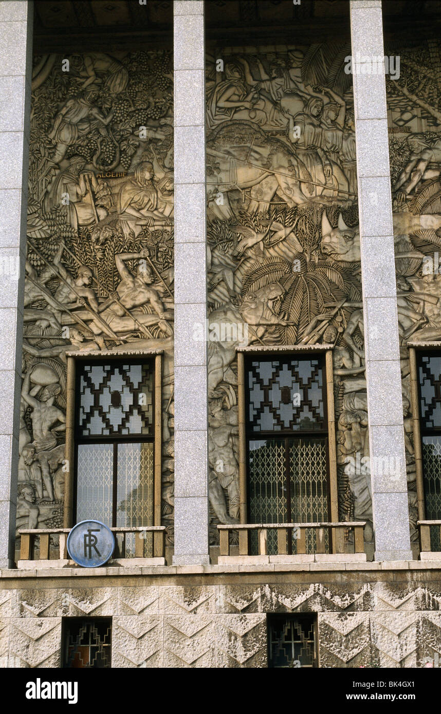 Museum of African and Oceanic Arts, Paris - Stock Image