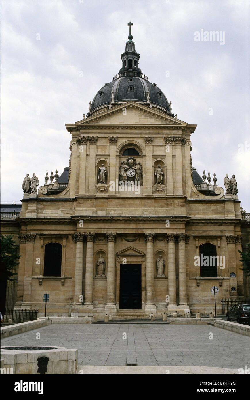 Chapel of the Sorbonne, Paris - Stock Image